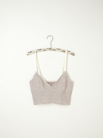 Little Hearts Cropped Bralette