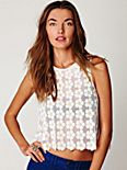 FP New Romantics Daisy Sequin Tank
