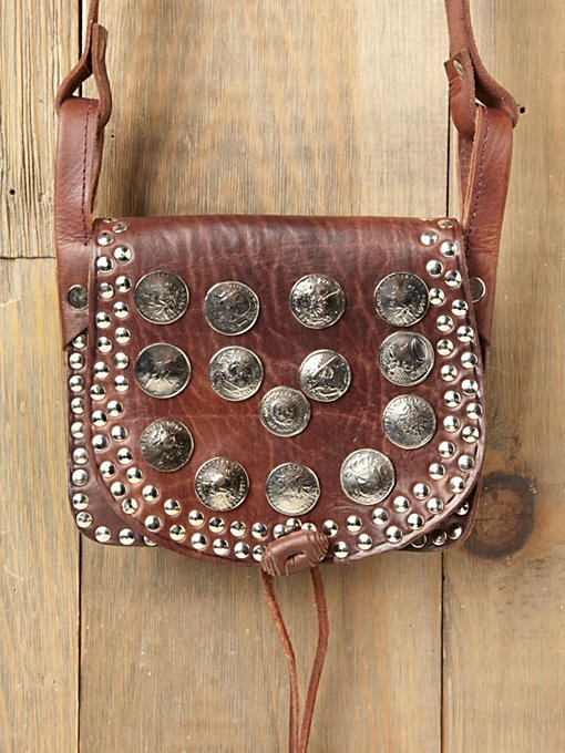 Studded Moroccan Crossbody