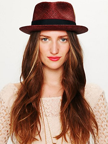 Christy's London Sam Feather Trim Fedora