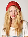 Cotton Open Knit Beret