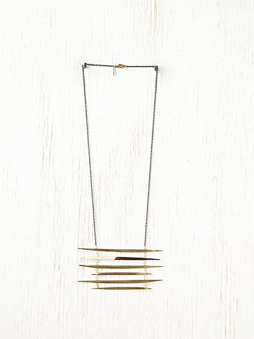 K/LLER COLLECTION Ladder Quill Necklace