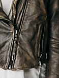 Distressed Biker Jacket