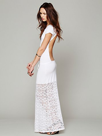 Dreamcatcher Open Back Maxi Dress