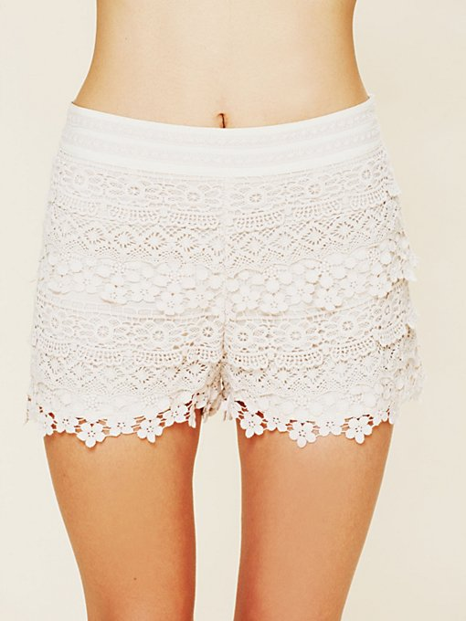 Candy Love Crochet Skort
