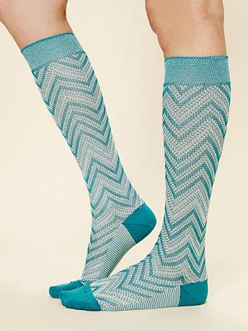 Missoni Knee High Socks