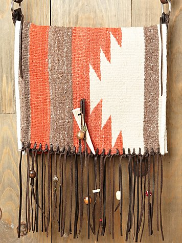 Totem Saddle Blanket Bag