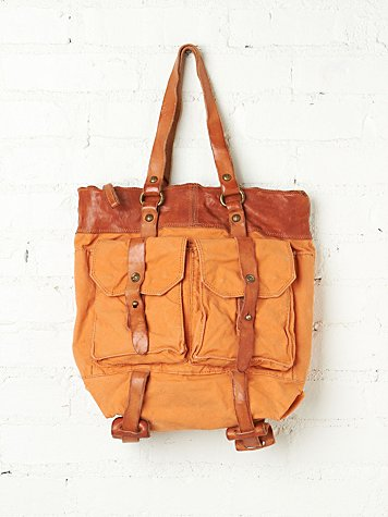 Distressed Tessa Tote