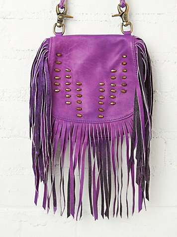 Vanessa Mooney Jagger Fringe Crossbody