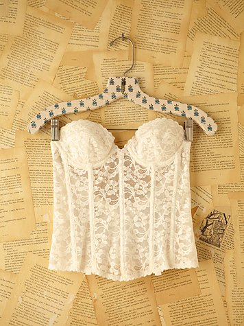 Free People Vintage Lace Bustier