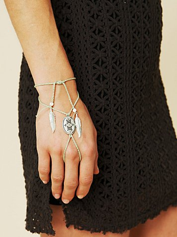 Concho Ring Wrap Bracelet