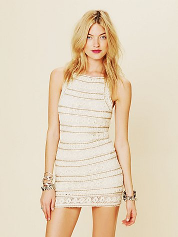 Free People FP New Romantics Valkyrie Bodycon
