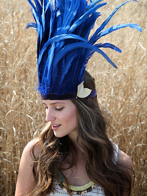 Wanderlust Feather Headdress