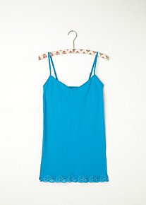 Lace Trim Seamless Tank in intimates-all-intimates