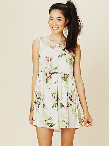 Free People Terri's Printed Dress