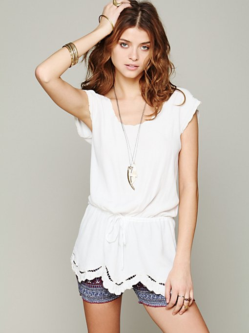 Intimately Free People FP ONE Smocked Bike Shorts in Loungewear