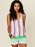 Atlantic Embroidered Tank