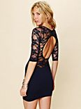 Open Back Lace Tunic