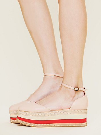 Jeffrey Campbell Stacked Shirley Platform