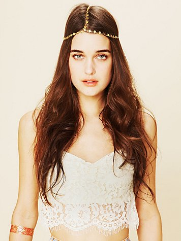 Wildfox Star Chain Headpiece