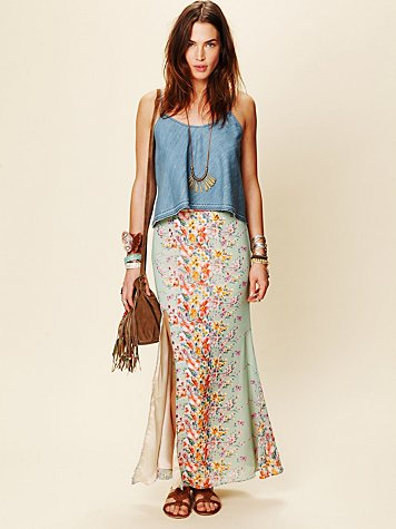 Lovers and Friends Love Stoned Maxi Skirt