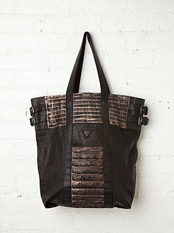 Maison Scotch Quilted Ryder Tote