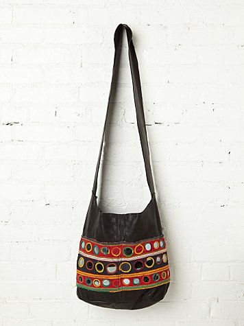 Recycled Leather Hobo