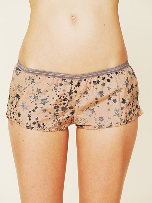 Maison Scotch Boxer Short in boy-shorts
