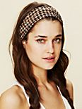 Printed Lace Wide Headband