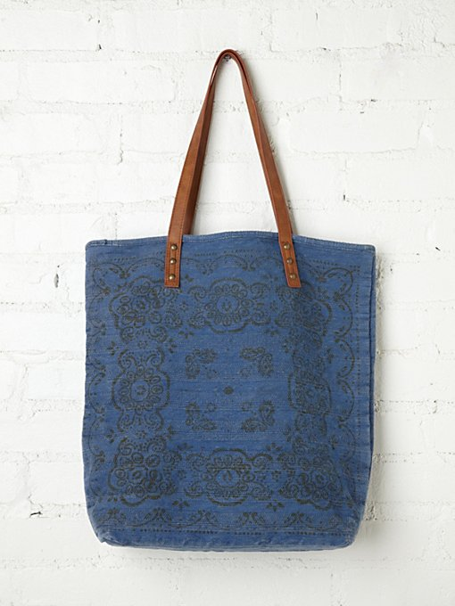 Faded Heartland Tote