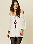 French Bowie Lace Tunic