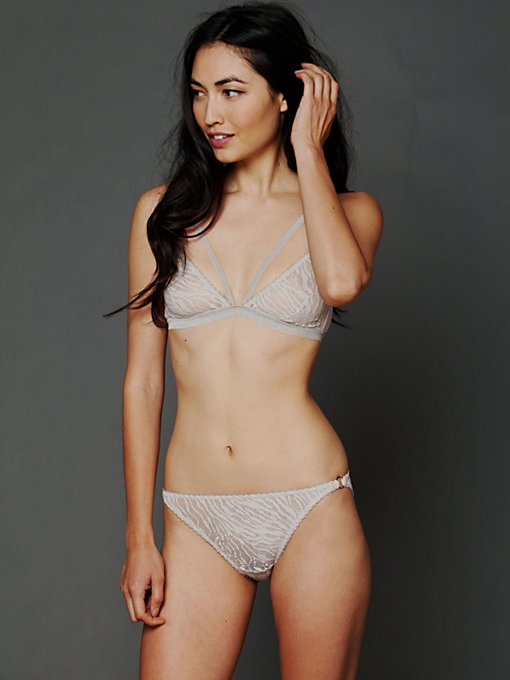 Lonely Cut Out Triangle Brief in lace-underwear
