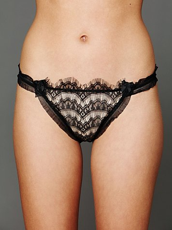 Bisou Bisou Berry Thong