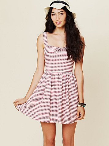 Free People Peek A Boo Dress