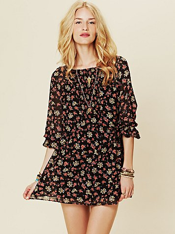 Free People Court Me With Flowers Tunic