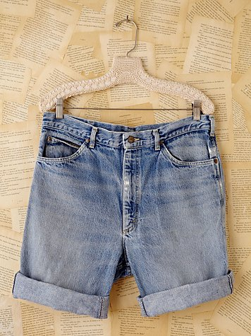 Vintage Longer Denim Cutoffs
