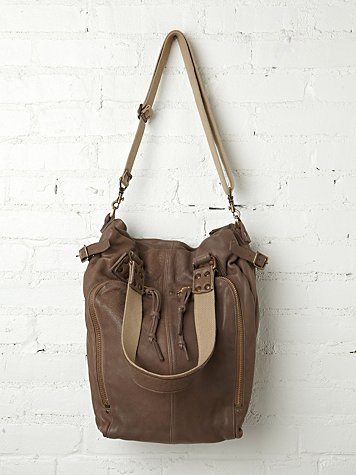Kempton & Co. Ashla Leather Tote