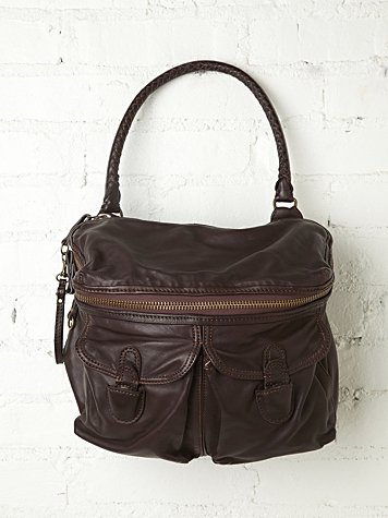 Kempton & Co. Seagram Leather Tote