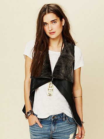 Muubaa Leather Vest