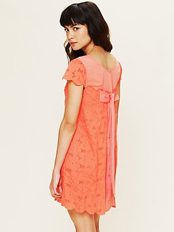 Free People Brown Eyed Girl Dress
