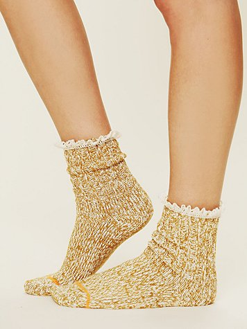 Free People Heathered Highland Boot Sock