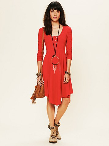 Miles of Henley Mini Dress
