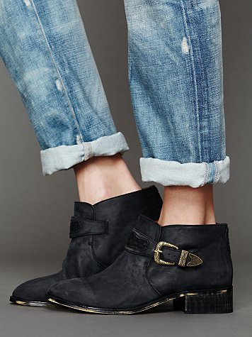 Distressed Collins Boot