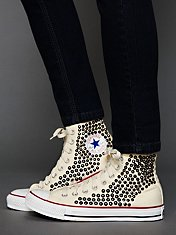 Tommy Studded Chucks Trainers