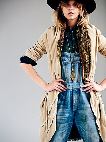 Free People Twice Zipped Hooded Jacket