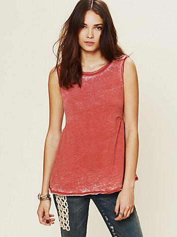 Free People Boyfriend Tank