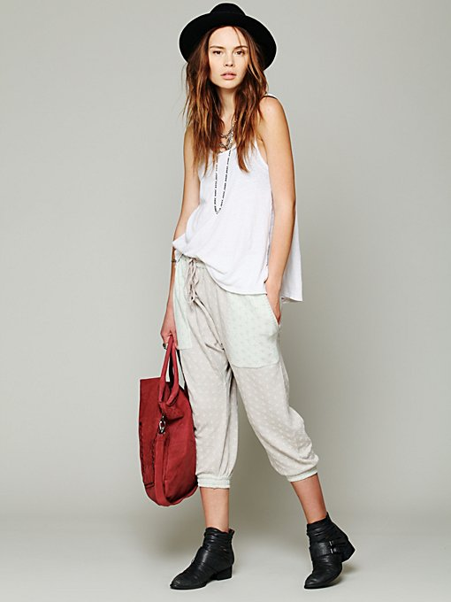 Free People Intarsia Swit Lounge Pant in Loungewear
