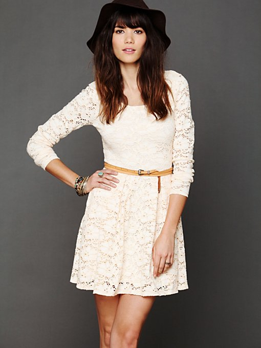 Free People Rose Garden Dress in lace-dresses