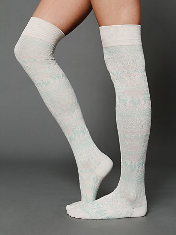 Free People Woodland Soft Sock