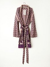 FP ONE Border Print Sleep Robe in fp-body